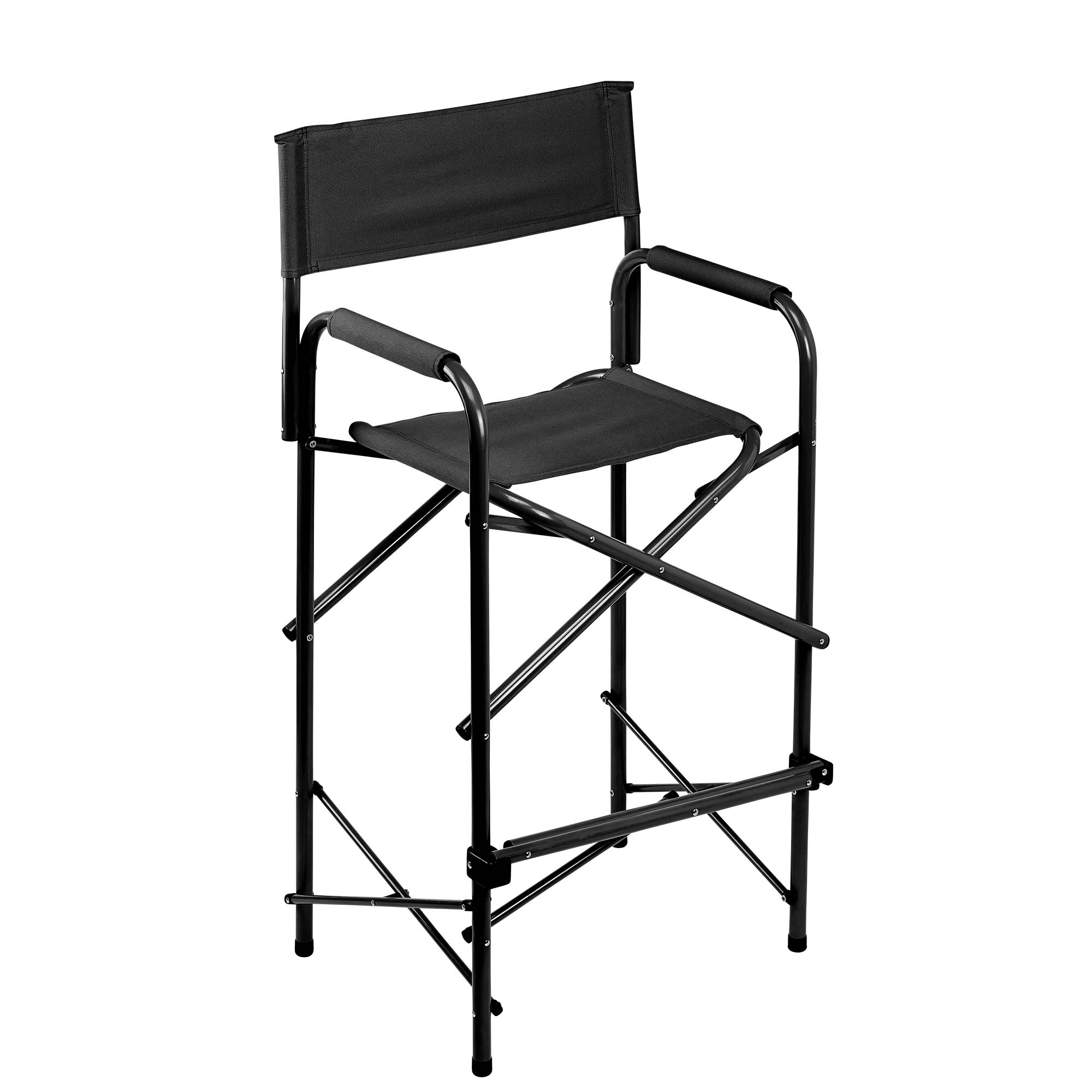 E Z UP® Directors Chair, Tall, Black