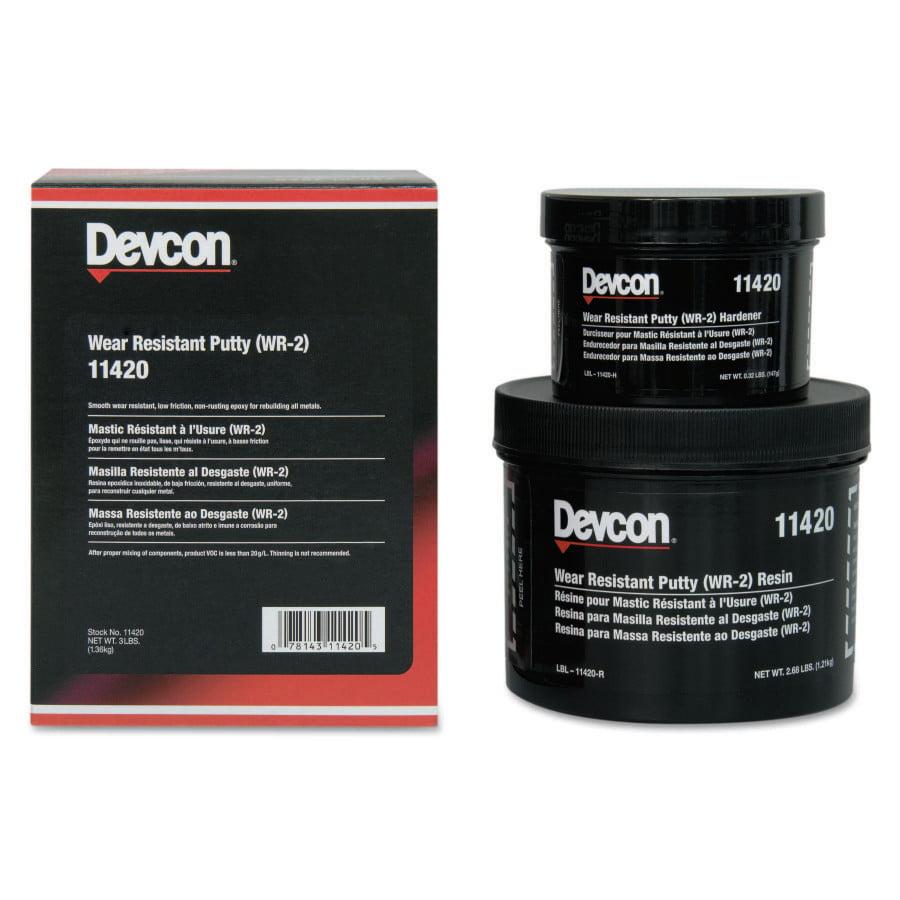 DEVCON 3-LBS WEAR RESISTANTPUTTY WR-2