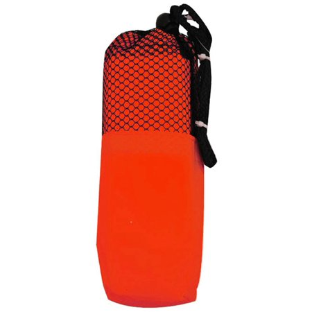 Adult PVC poncho in color matching carry case (Daryl Poncho)