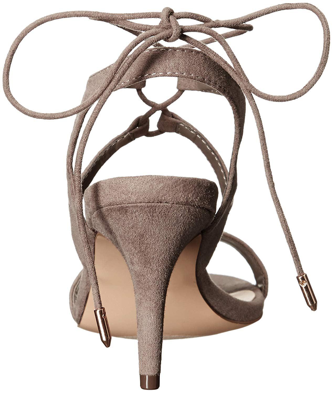 Athena Alexander Women's Shalamar Dress Sandal, Grey Suede, Size 7.0