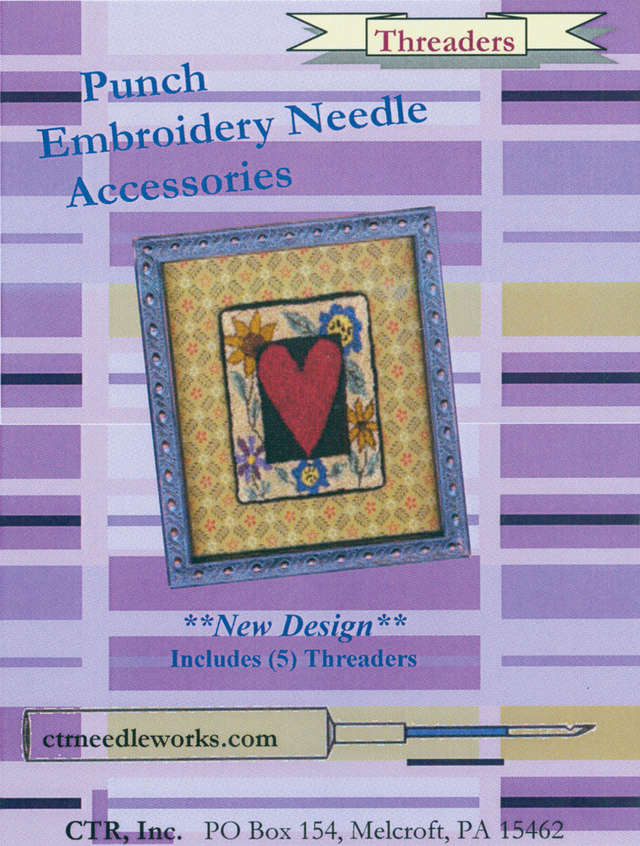 Punch Embroidery Needle Threaders-5/Pkg