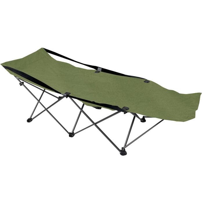 Deluxe Folding Camping Cot by BlackBeltShop