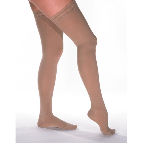 Venosan Legline Super Sheer 15-20mmHg Women's Sheer Stocking Thigh High Closed Toe