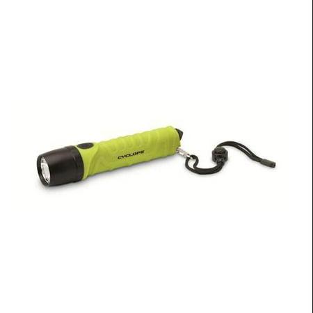 Cyclops CYC-FL700GB-LG 700 Lumen Led Emergency Flashlight, Lime by