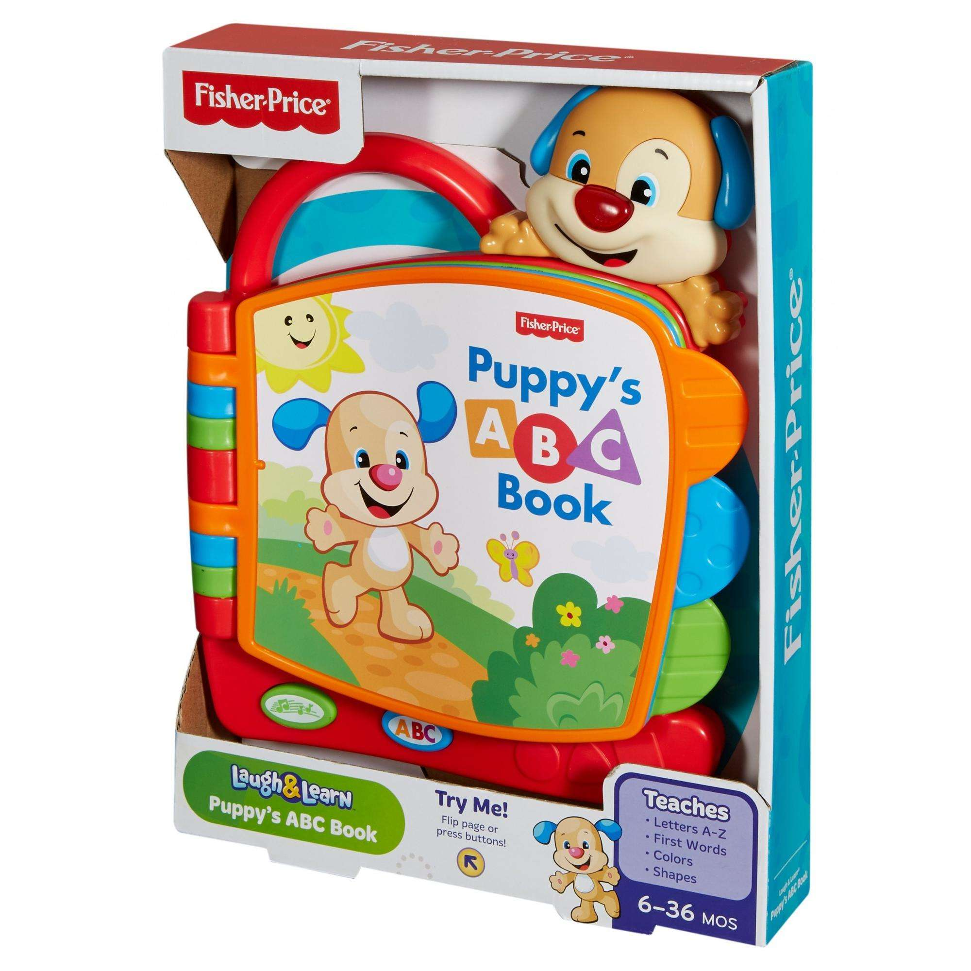 Fisher Price Laugh & Learn Puppy s ABC Book Walmart