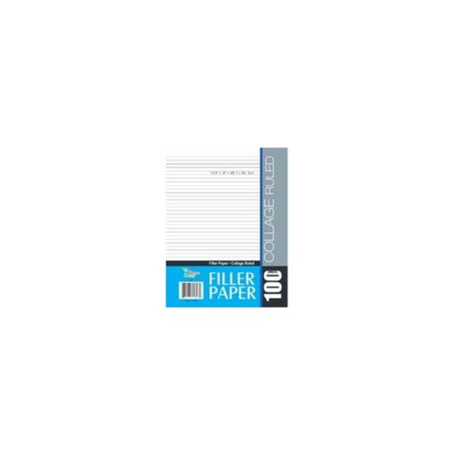 Three Leaf 2128813 100 Sheet College Ruled, Filler Paper ...