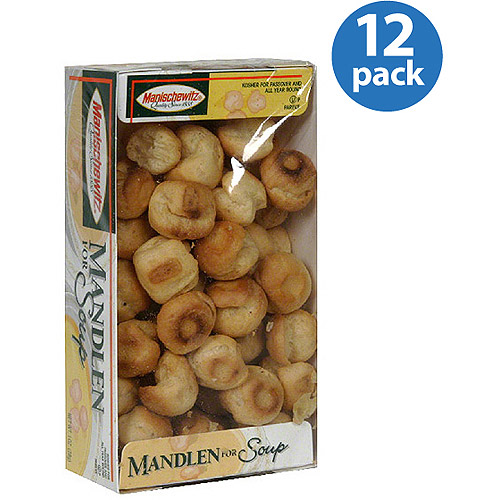 Manischewitz Mandlen for Soup, 1 oz, (Pack of 12)