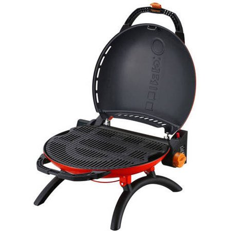 O-Grill 10,500 BTU Portable Propane Grill Stoneman Sports, O-600BK, 225 sq in Grill Space, Available in Multiple Colors The Stoneman Sports O-600BK O-Grill Portable Propane Grill is the first efficient lightweight portable propane grill. O-Grill 600 is the first truly portable grill with features that rival larger, heavier and more costly models. Colorful clam shell design with retractable legs set it apart from other  portable  grills. Great for camping, tailgating, RVs, picnics and more. Portable liquid propane gas grill uses standard propane gas cylinders. Black finish. The grill has an optional storage case and optional detachable light with durable PL lamp and is ANSI Z21.89 a-2006/CSA 1.18a-2006 test approved. Run Time 4 hours with standard 14.1 oz propane cylinder. Stoneman Sports is dedicated to innovation and simplicity and specializes in high-quality lifestyle and sports products. Their expansive product offering includes bike racks, kayak carriers, grilling accessories and much more.
