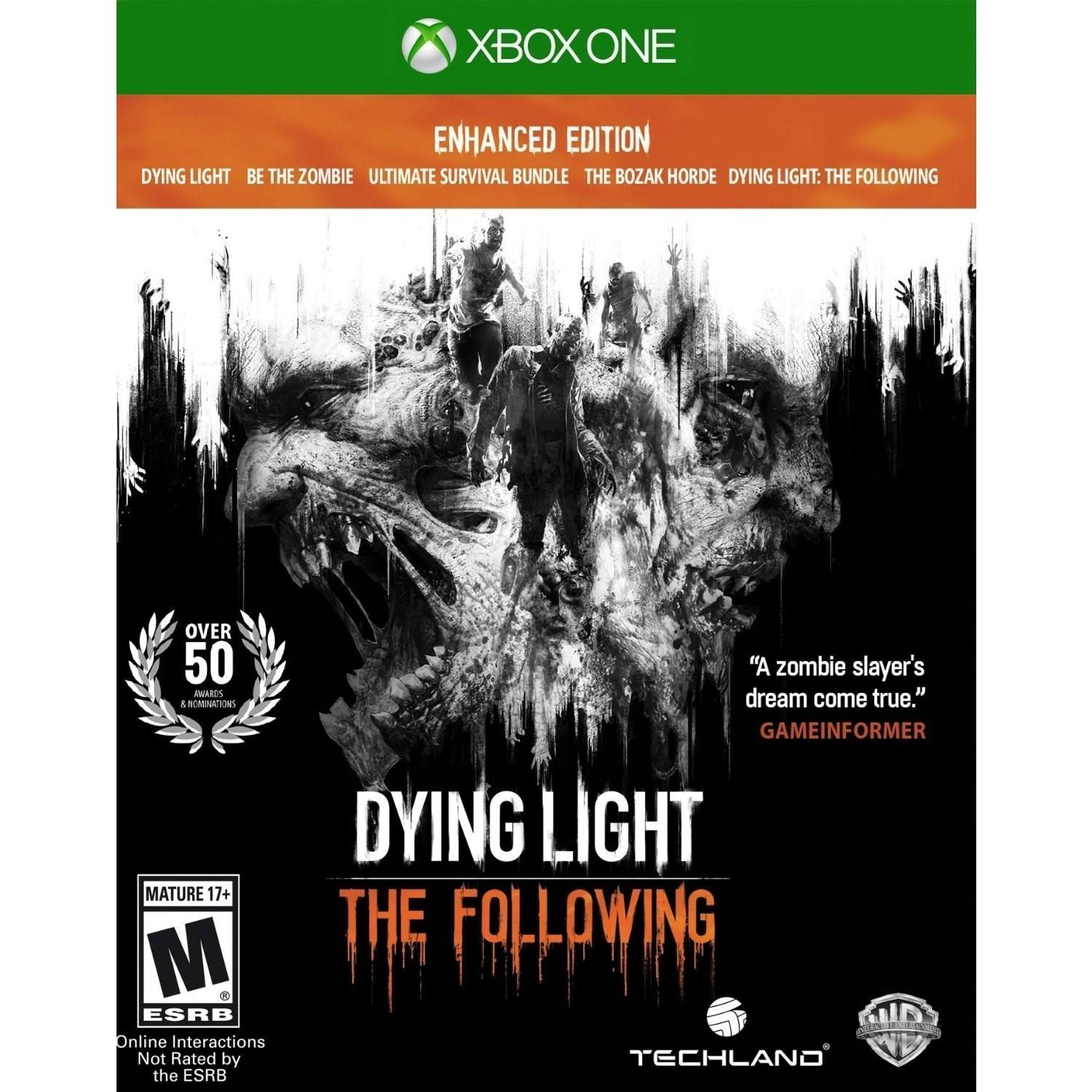 Dying Light: The Following Enhance Edition - Pre-Owned (Xbox One)