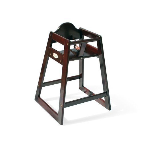 Foundations Classic Wood Hardwood High Chair - Antique Cherry