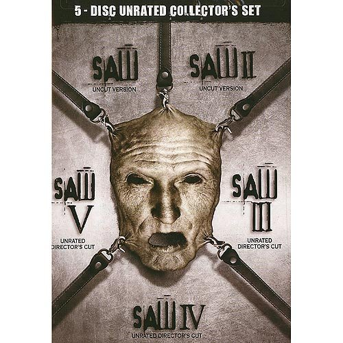 Saw I - V Box Set (Unrated) (Widescreen)