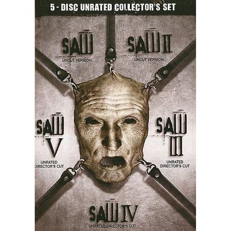 Saw I - V Box Set (Unrated) (Widescreen) ()
