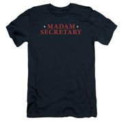Madam Secretary Logo Mens Slim Fit Shirt