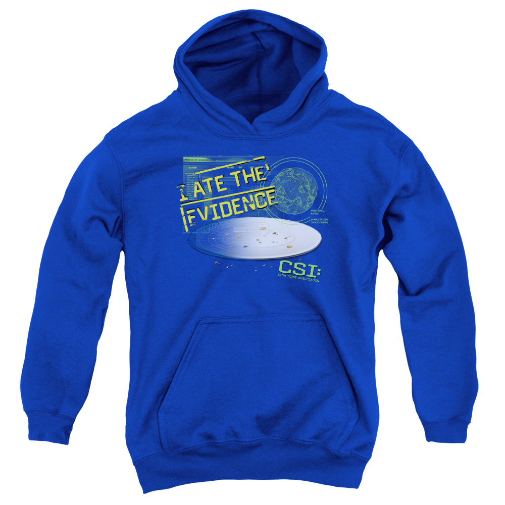 CSI I Ate The Evidence Big Boys Pullover Hoodie