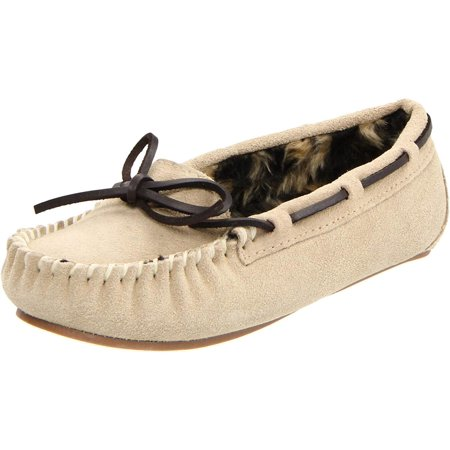 Tamarac Womens Peggy Leather Closed Toe Slip On Slippers