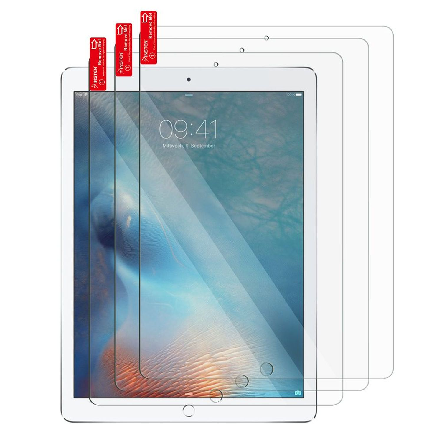 "iPad Pro 10.5 Screen Protector, by Insten 3-Pack Clear Fully Protect Screen Protector LCD Film For Apple iPad Pro 10.5"" (Anti-Scratch, Bubble-free)"