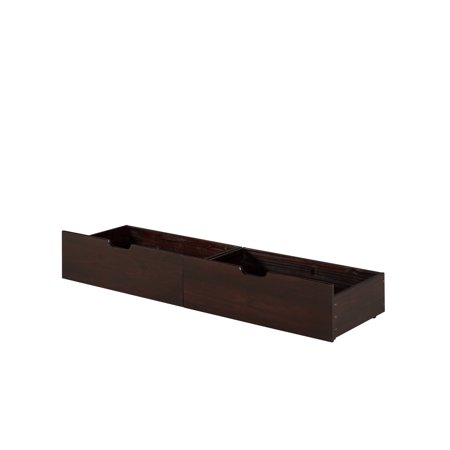 Camaflexi Under Bed Drawers - Twin or Full - Multiple Finishes