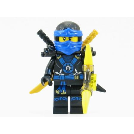 LEGO Ninjago - Deepstone Jay Blue Ninja Minifigure Yellow Aeroblade (2015)