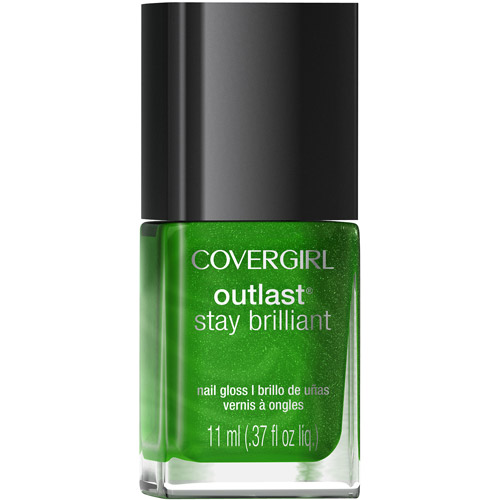 COVERGIRL Outlast Stay Brilliant Nail Gloss Emerald Blaze 50, .37 oz