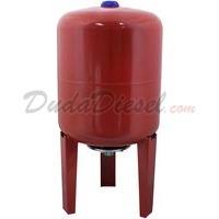 8 Liter / 2.1 Gallon Red Expansion Tank for Solar Water Heater Systems Thermal Pressure Protection