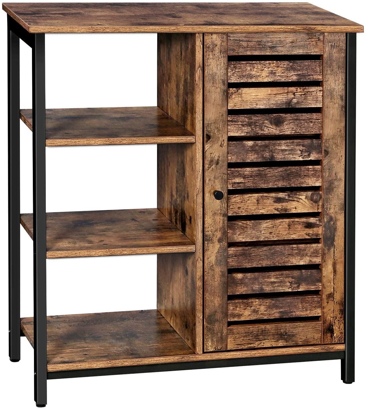 VASAGLE LOWELL Storage Cabinet, Cupboard, Multipurpose ...