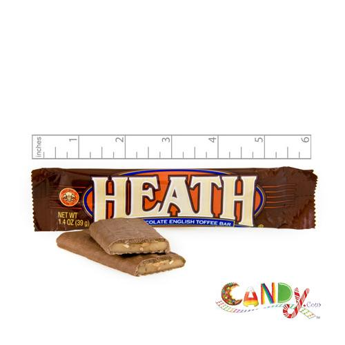 Heath Toffee Bar 1.4 oz.: 24 Count