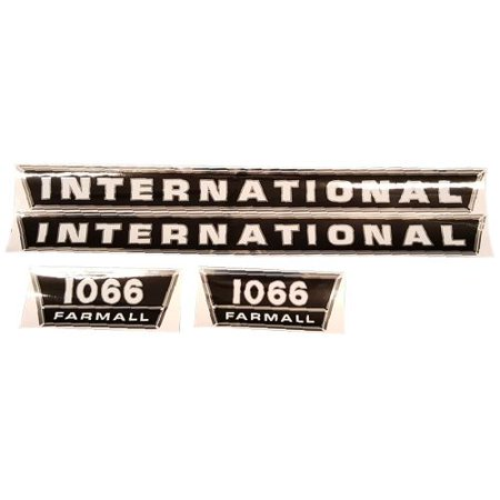 Tractor Decal Set - DECAL SET For Case/International Harvester 1066 TRACTOR