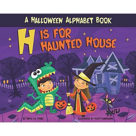 H Is for Haunted House : A Halloween Alphabet Book](Halloween Alphabet Printables)