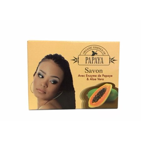 Organic Essence of Papaya Soap with Papaya Enzyme & Aloe Vera 100g