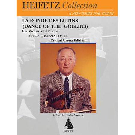 La Ronde Des Lutins (Dance of the Goblins) Op. 28 : Violin and Piano