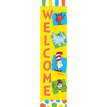Dr. Seuss Favorites Vertical Paper Banner