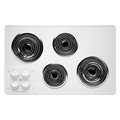 Frigidaire ffec3205lw 32 electric cooktop, white