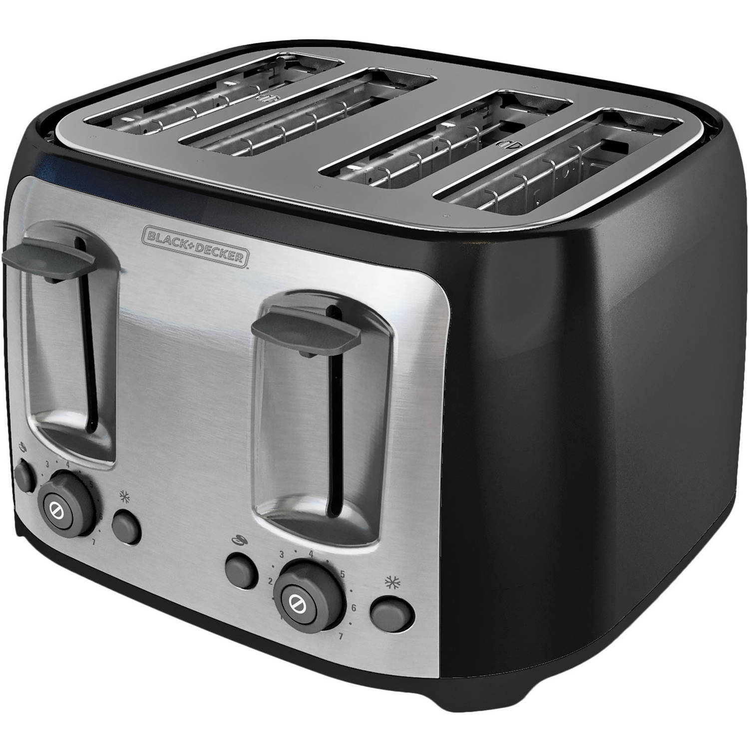 bath light stainless slot toaster full beyond bed size steel u led kalorik with toastmaster controls of slice tmts dual amazoncom kenmore