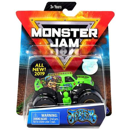 Jester Monster Jam with Figure & Poster (Monster Z)