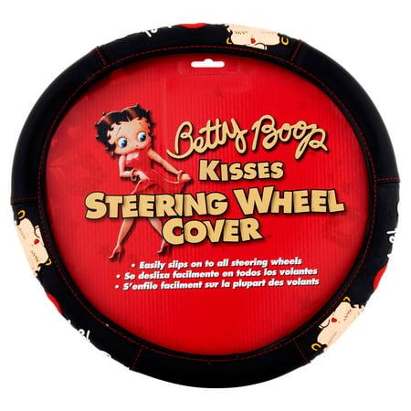 Betty Boop Kisses Steering Wheel Cover Betty Boop Bad Dog