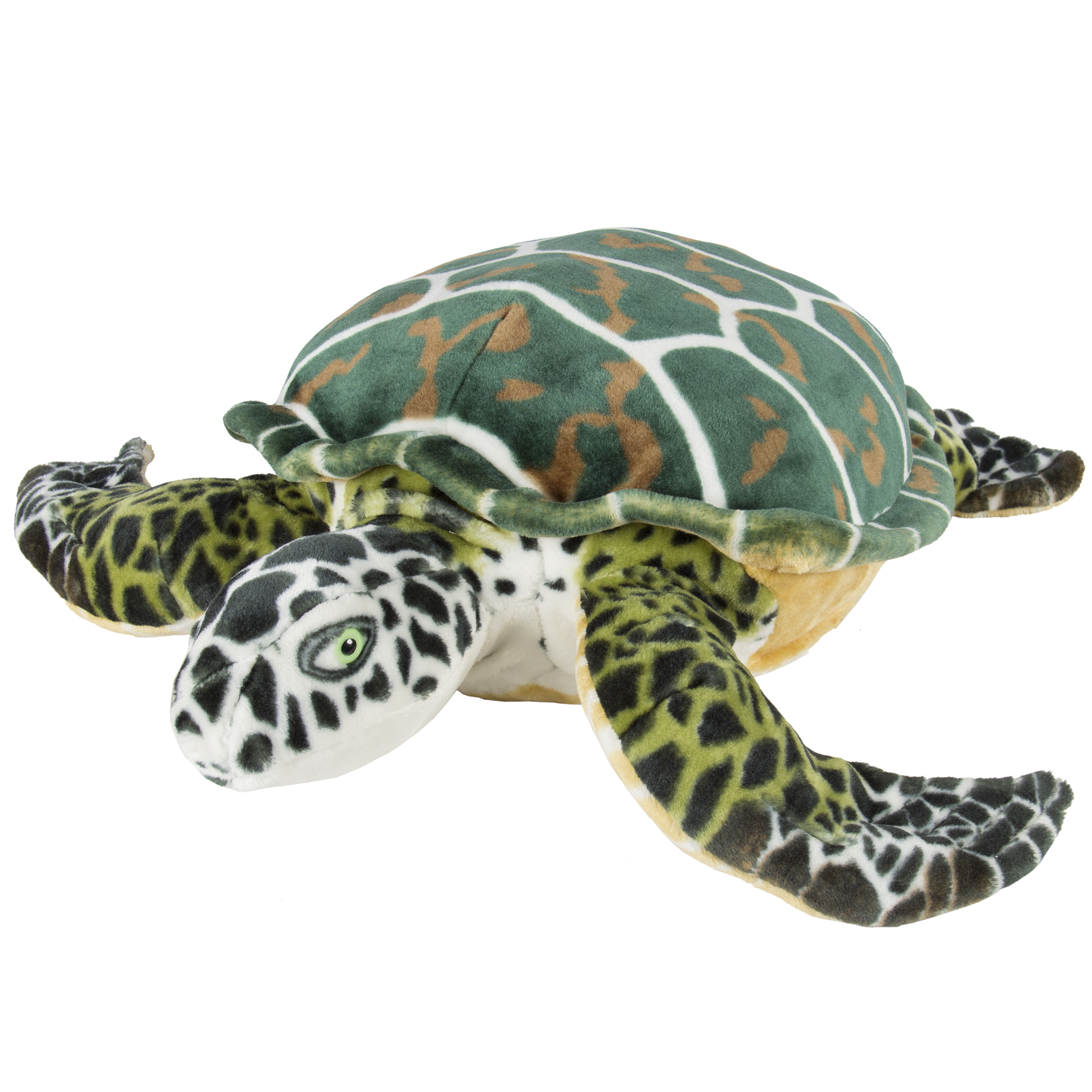 Large Sea Turtle Plush Animal Realistic Tortoise Soft Stuffed Toy Pillow Pet