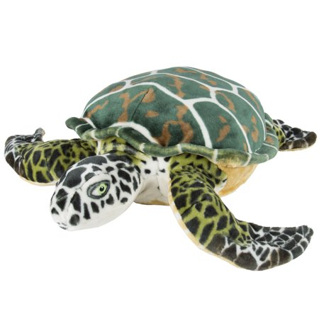 Best Choice Products Large Sea Turtle Plush Animal Realistic