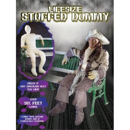 Costumes For All Occasions Va236 Dummy  Full Size With Hands - Test Dummy Costume