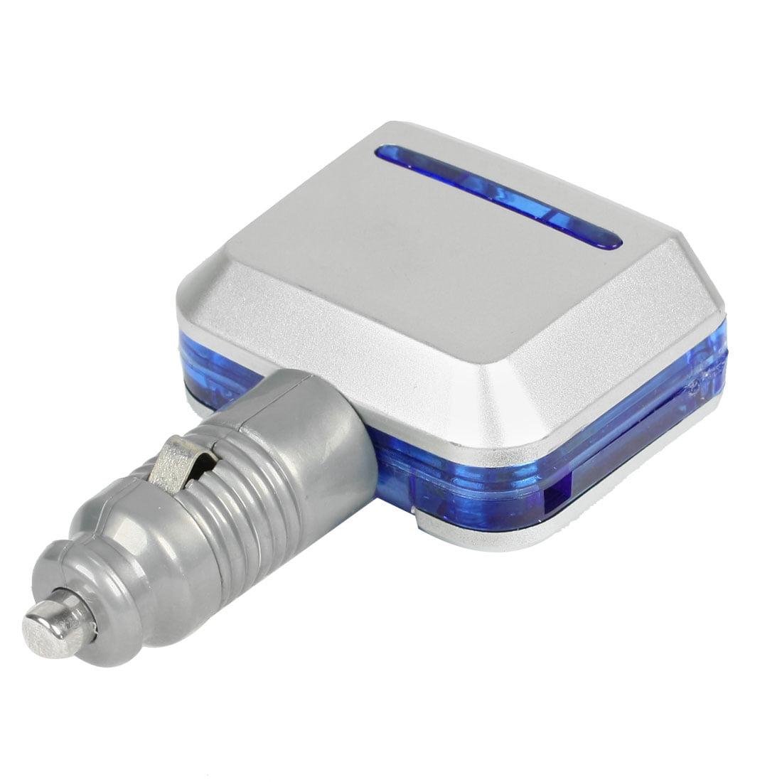 Adjustable Cigarette Lighter Power Charger Adapter 2 Socket for Vehicle Car 12V