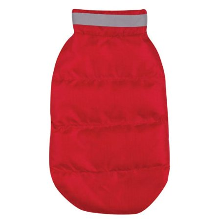 - Polyester The North Paw Puffy Dog Vest, XX-Small, Red Ship from US..., By Casual Canine