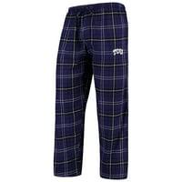TCU Horned Frogs Concepts Sport College Ultimate Flannel Pants - Purple/Black