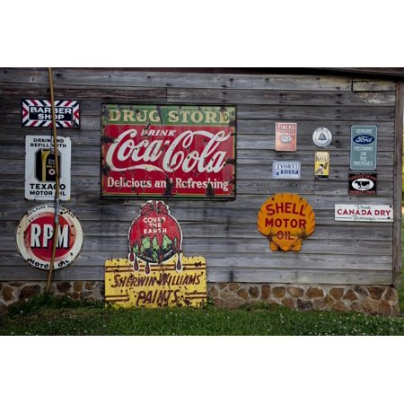 Retail Advertising Tin Signs Print Wall Art ()