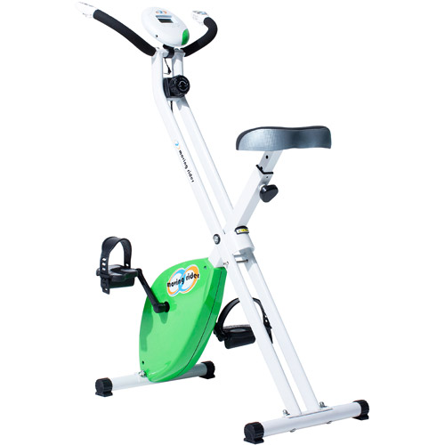 Moving Rider MRX-100 Upright Interactive Exercise Game Bike, Green