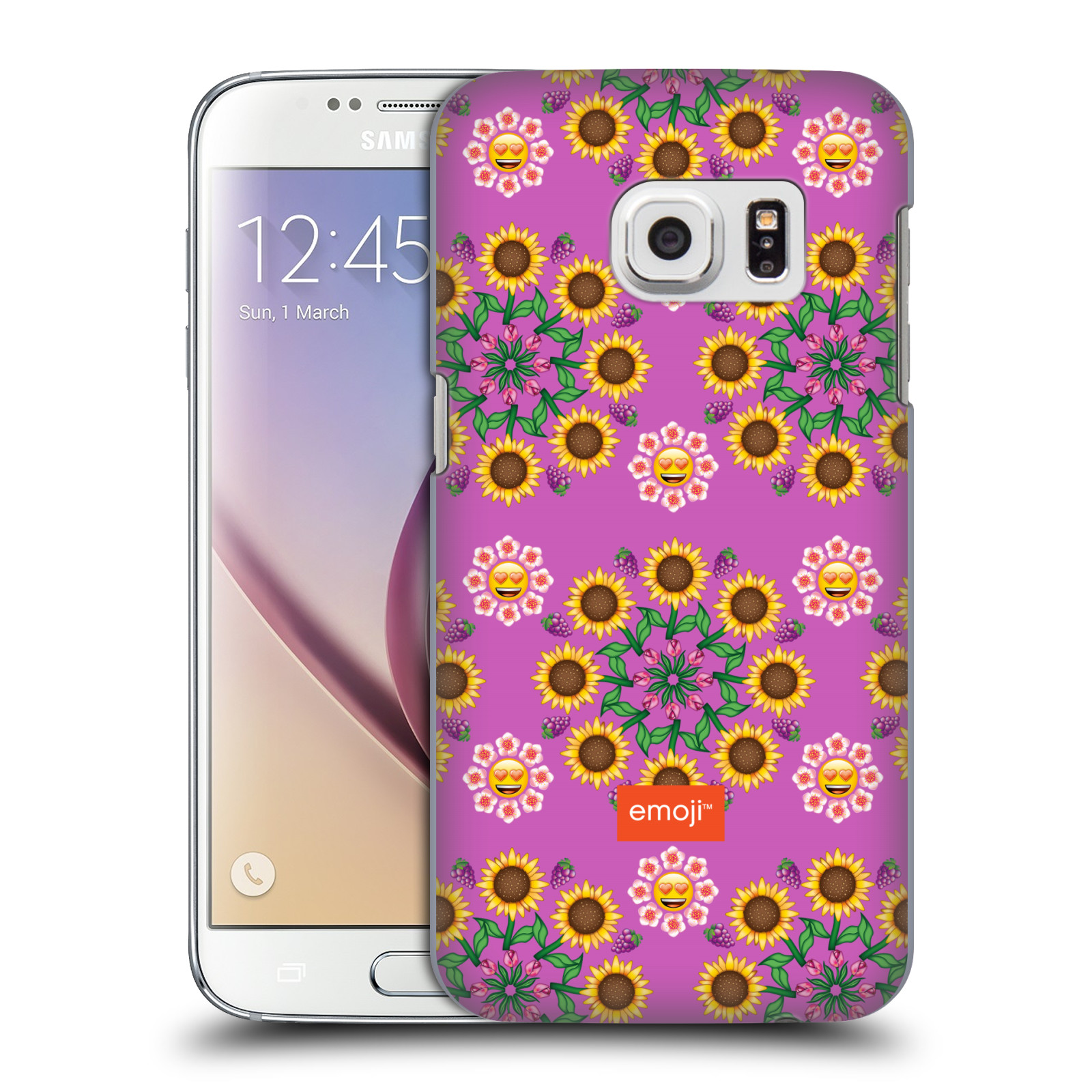 OFFICIAL EMOJI ASSORTED PRINTS HARD BACK CASE FOR SAMSUNG PHONES 1
