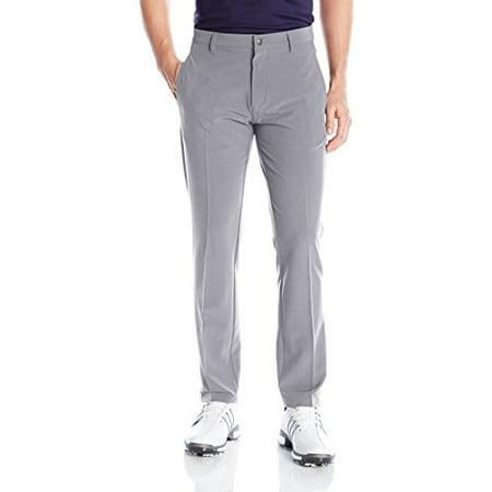 adidas Golf Men's Adi Ultimate 3 Stripe Pants, Mid Grey, Size 40/34
