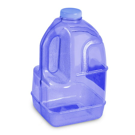 - 1 Gallon BPA FREE Reusable Plastic Drinking Water Big Mouth