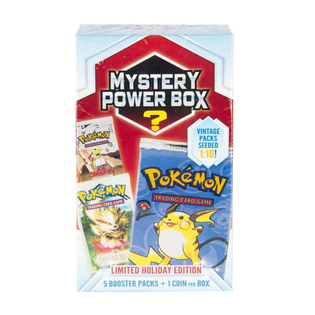 Pokemon Mystery Power Box 5 Trading Cards](Quest Halloween Box Pokemon)