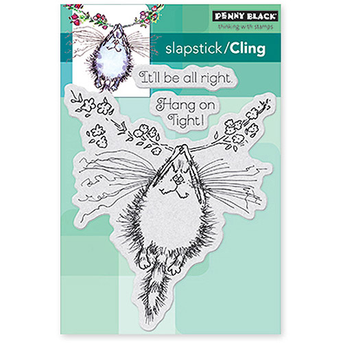 Penny Black Cling Rubber Stamps, Hang On Tight!