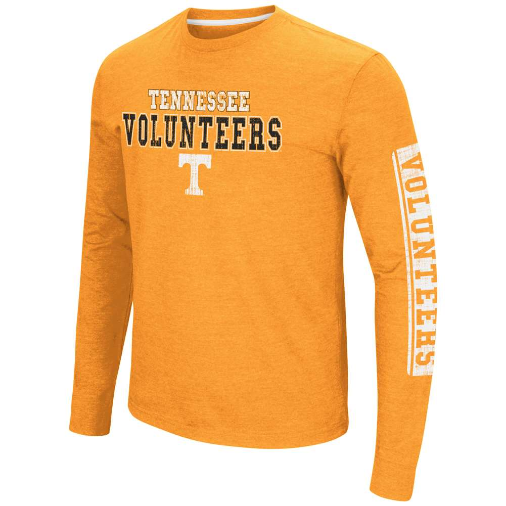 Tennessee Volunteers Colosseum Sky Box L/S T-Shirt - Straight Print