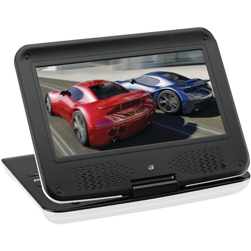 "GPX 9"" Portable DVD Player, PD901W"